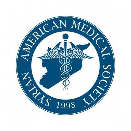 Logo Syrian American Medical Society Foundation