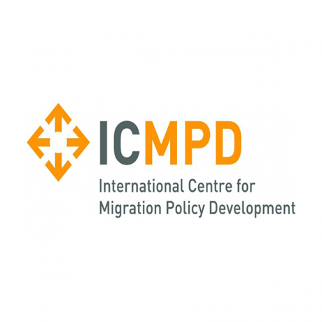 Logo International Centre for Migration Policy Development (ICMPD)