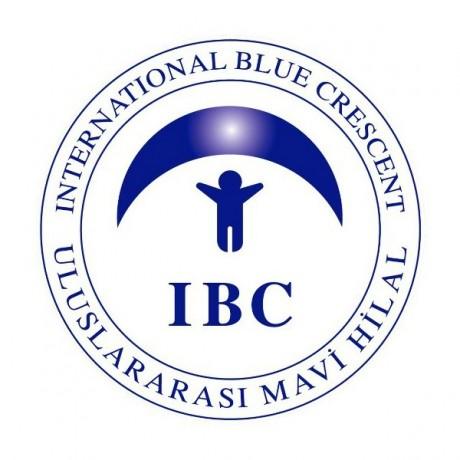 Logo Uluslararası Mavi Hilal İnsani Yardım ve Kalkınma Vakfı (IBC)