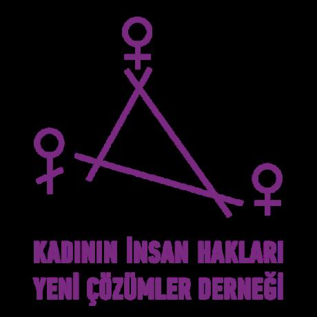 Logo Kadının İnsan Hakları Yeni Çözümler Derneği